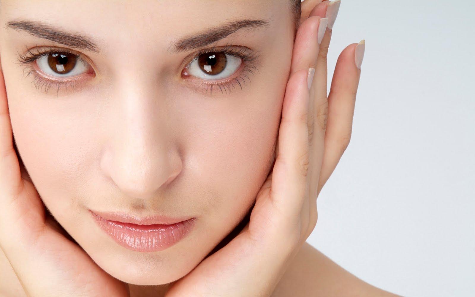 شفافیت پوست صورت