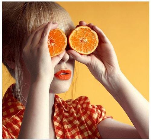 استفاده از ماسک پرتقال برای درمان پف زیر چشم موثر است