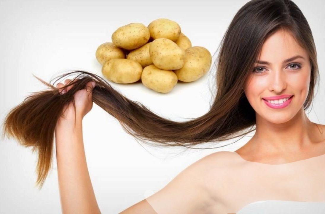 ماسک سیب زمینی ماسک مو برای رشد سریع مو