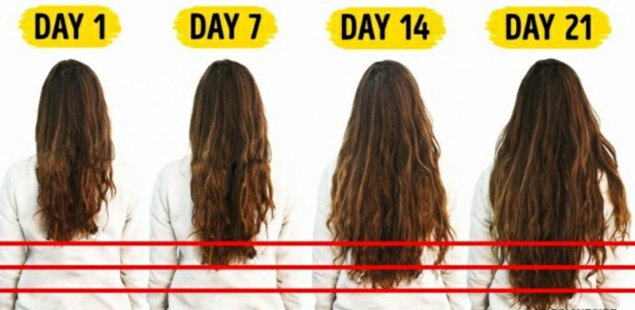 ماسک مو برای رشد سریع مو بلند کردن مو در 21 روز