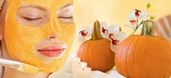 کدو تنبل برای ماسک جوانسازی پوست