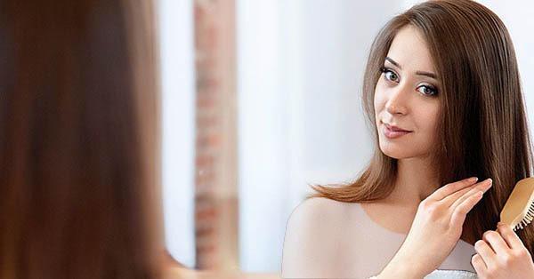 درمان موی چرب با شانه کردن مو
