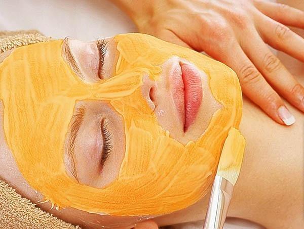 ماسک صورت برای پوست چرب و پرتقال