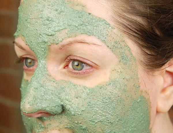 کاهو برای ماسک صورت برای پوست چرب