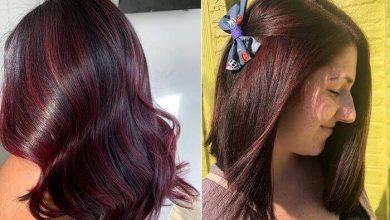رنگ موی شرابی ترکیب